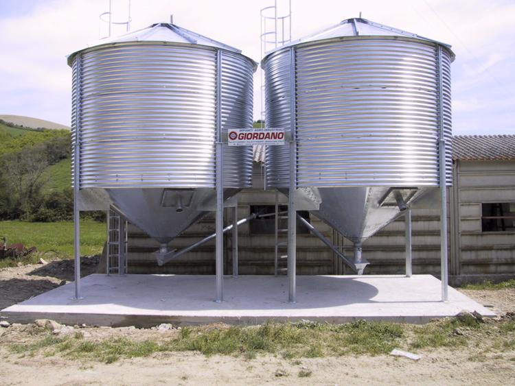 Silos per mais mulino elettrico per cereali professionale for Vetroresina ondulata prezzo